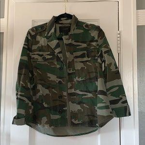 J.Crew Camo Shirt/Jacket